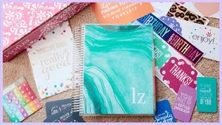 Erin Condren 2015-2016 Life Planner // Unboxing & Review