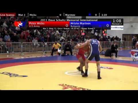 Schultz Greco 84kg Peter Hicks (Army) vs. Hristo M...