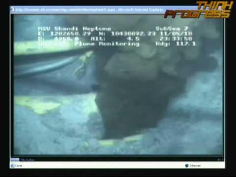 BP Gulf Oil Spill Leak Plume Gusher Disaster Video