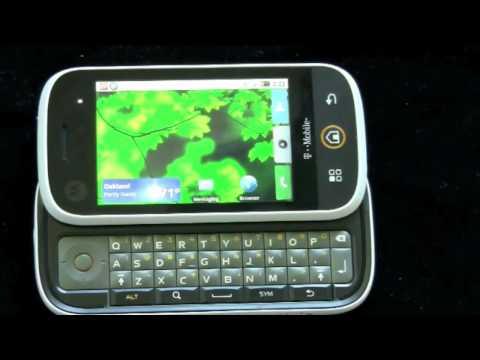 Motorola CLIQ (T-Mobile) - Review, Pt 1
