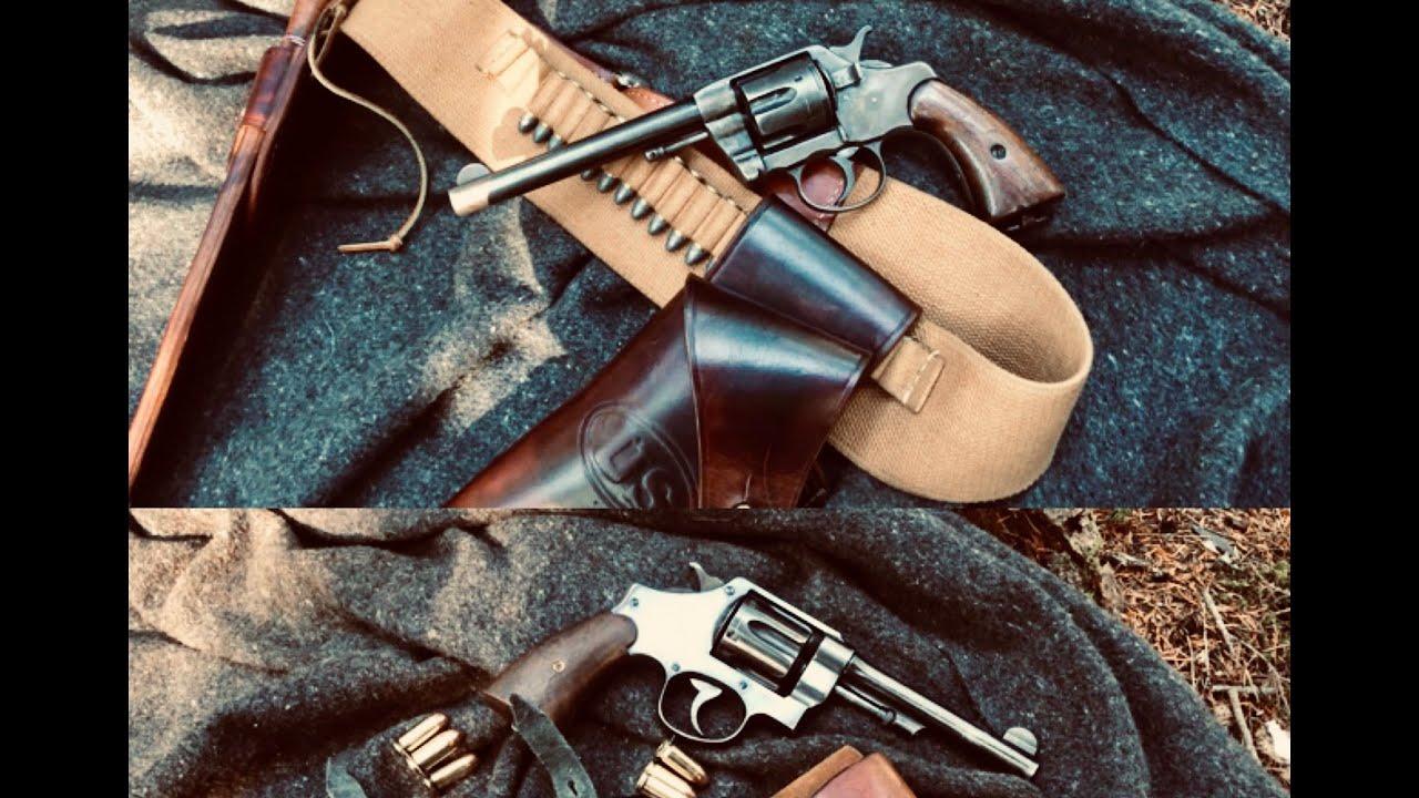Colt 1892 New Army VS S&W 1917