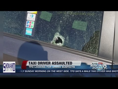Taxi driver assaulted and shot at on the westside