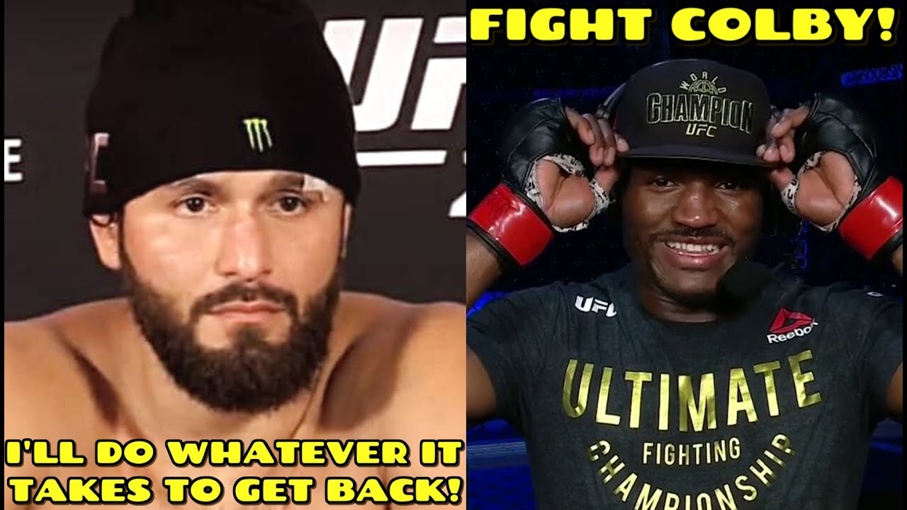 Jorge Masvidal on Usman loss, I'll do WHATEVER IT TAKES to get back in front of that man, Dana White