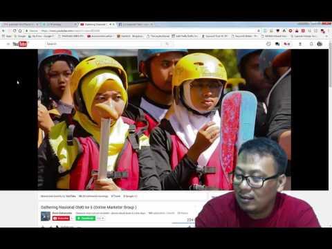 First Reaction to Gathering Nasional GANAS 2017 Magelang Borobudur Indonesia