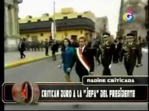 Nadine Heredia romper el protocolo En Fiestas Patrias, El Noticioso - Global TV