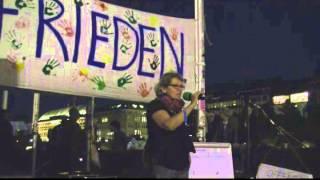 25. Hamburger Mahnwache am 15.09.2014 | Offenes Mikro | Frieden, Waffenlieferungen, Tierversuche...