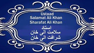 Ustad Salamat Ali Khan.Sharaft Ali Khan and Bob Becker-A Taraana