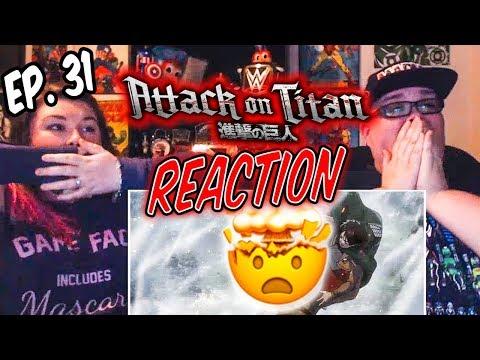 "Attack on Titan Episode 31 (2x6) ""Warrior"" REACTION!!"