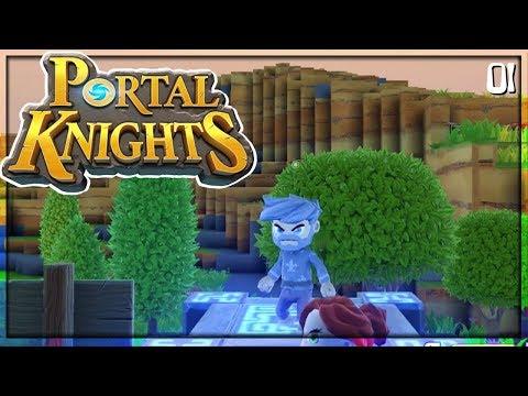 Eine Alternative zu Minecraft? - Portal Knights - 01 - Balui - miri33