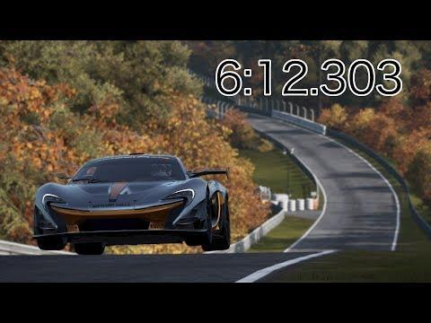 Project CARS 2 - McLaren P1 GTR - Nürburgring Nordschleife - 6:12.303 World Record