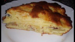 ШАРЛОТКА с яблоками на кефире. Яблочный пирог. Простой и вкусный рецепт.