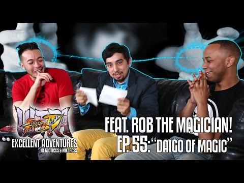 DAIGO OF MAGIC! The Excellent Adventures of Gootecks & Mike Ross ft. Rob the Magician! Ep. 55