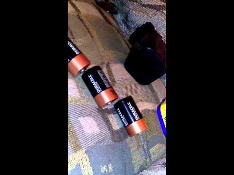 Rayovac 6v battery problem solved