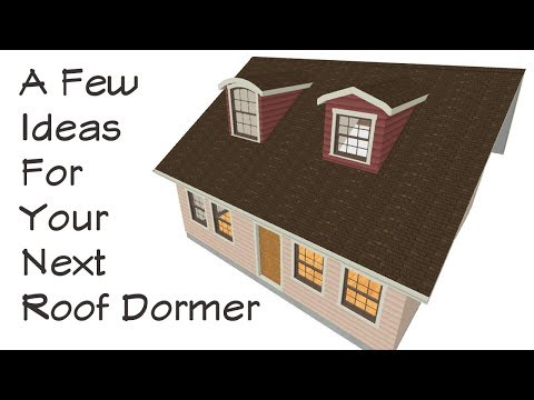 A Few Different Ideas For Roof Dormers - Architectural Design