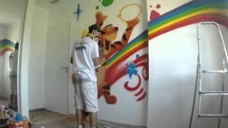 Graffiti Chambre de bébé - Graffeur professionnel Agde - Graffit One