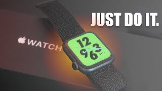 Apple Watch Series 4 Nike Plus Edition Review (Reflective BAND)