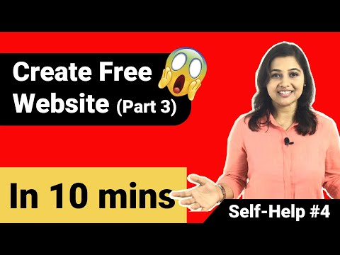 Create free website (part 3) | Create free website with wordpress 🔥 thumbnail