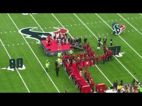 Andre Johnson Texans Ring of Honor Induction