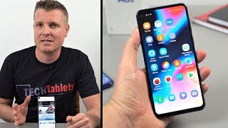 Samsung Galaxy A8S 2019 Review & Unboxing (English)