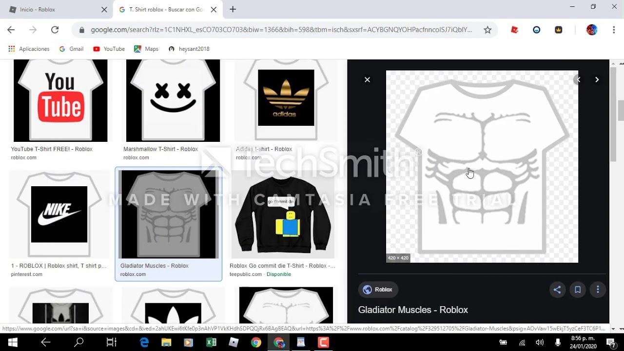 Como Crear T Shirt En Roblox D Youtube