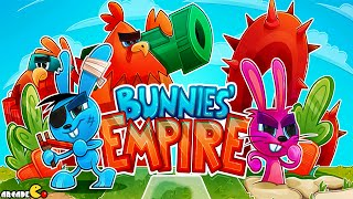 Bunnies' Empire: Defend your kingdom! Gameplay