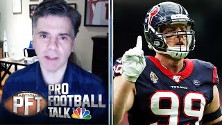 PFTPM: J.J. Watt's concerned about season, Raheem Mostert requests trade (FULL EPISODE) | NBC Sports