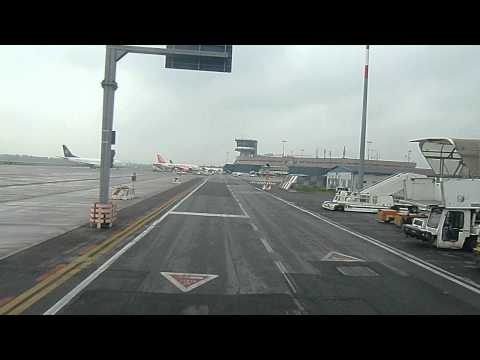 Bologna Italia ( BLQ ) airport overview before bording on Ryanair flight to Weeze Germany