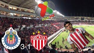 NECAXA VS CHIVAS 1-3 RESUMEN GOLES CLAUSURA 2018 JORNADA 3 -ESTADIO VICTORIA