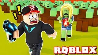 CZY PRZETRWAM APOKALIPSĘ ZOMBIE W ROBLOX?! (Roblox Zombie Rush) | Vito i Bella