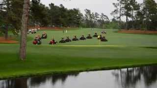 Masters Practice Round - Mowing #15