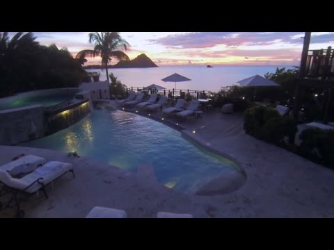Cap Maison - St. Lucia Luxury Hotel, Resort & Spa - Pool Sunset