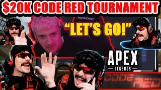 DrDisrespect's $20K CODE RED Tournament! High Octane Gameplay & Funny Highlights! (Timestamped)