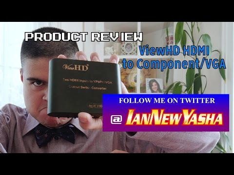 ViewHD 2 HDMI to component/VGA review - Ian New Yasha: The Final Act