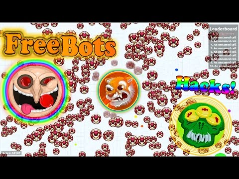 Agar.io PRIVATE SERVER HACK WITH BOTS TUTORIAL!⭐️+602 BOTS ✅//WORKING 2016 NOVEMBER/WITH FRIENDS!✔️