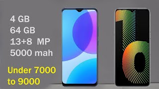 Top 5 Best Smartphone Under 7000 to 9000 July 2020