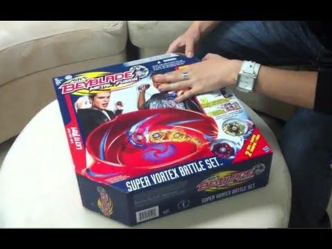 Beyblade Super Vortex Battle Set Unboxing