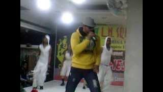 rapper ansh in ln square mega mart mall in 2012