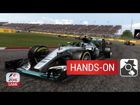 F1 2016 (MOBILE VERSION) | Hands-On
