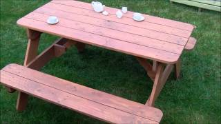 Kids Picnic Table_adjustable Height.wmv
