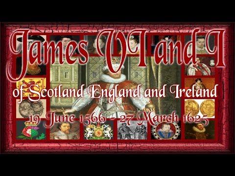 James VI and I of Scotland England and Ireland 1566–1625