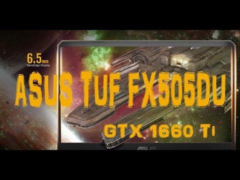 Обзор ноутбука ASUS TUF FX505DU