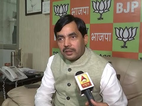 Those questioning EVMs are about to lose, says Shahnawaz Hussain