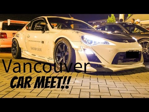 Market Crossing -Vancouver's Biggest Car Meet!