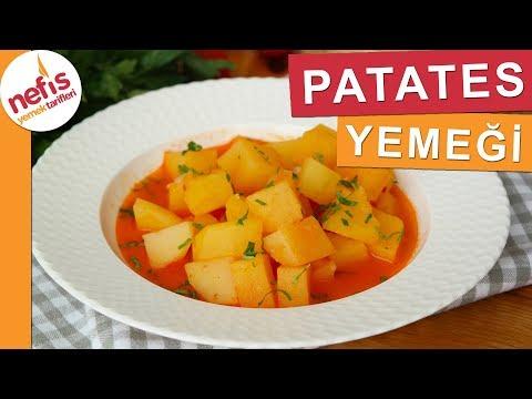 EN EKONOMİK Patates Yemeği Tarifi - Nefis Yemek Tarifleri