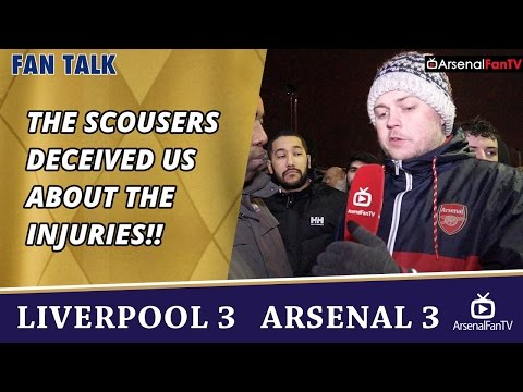 The Scousers Deceived Us About The Injuries!!  | Liverpool 3 Arsenal 3