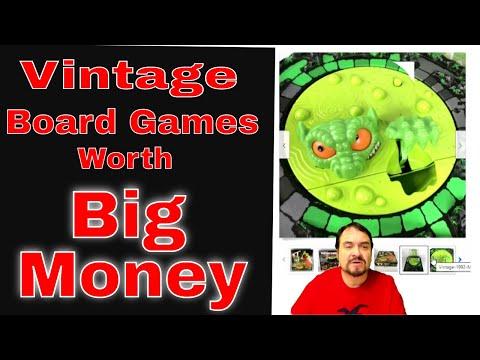 Vintage Board Games Worth Big Money