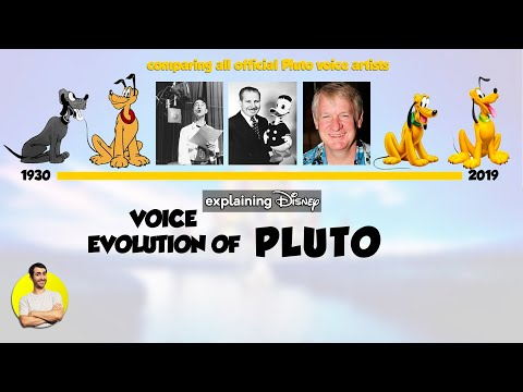 Voice Evolution of PLUTO Over 90 Years (All Voice Actors Comparison 1930-2020)