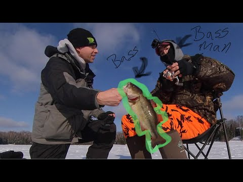 Bluegills And Bass OH MY... Day Four Of Ice Fishing Vilas County, WI 2020 #4 Of 4