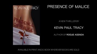 Presence of Malice Book Trailer
