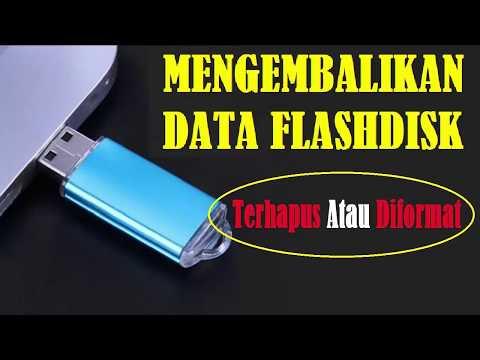 Mungkin kita pernah menyimpan suatu file/folder di flashdisk kemudian suatu saat ketika dibuka flash.